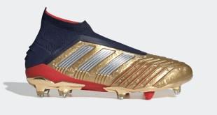 Gold Predator 19+ Zidane Beckham