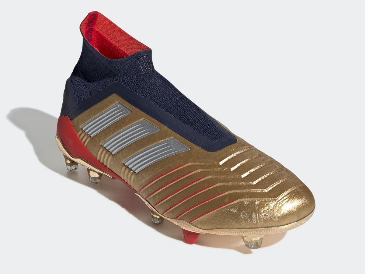 detailing f4292 1ec74 adidas Predator19+ Gold Beckham Zidane