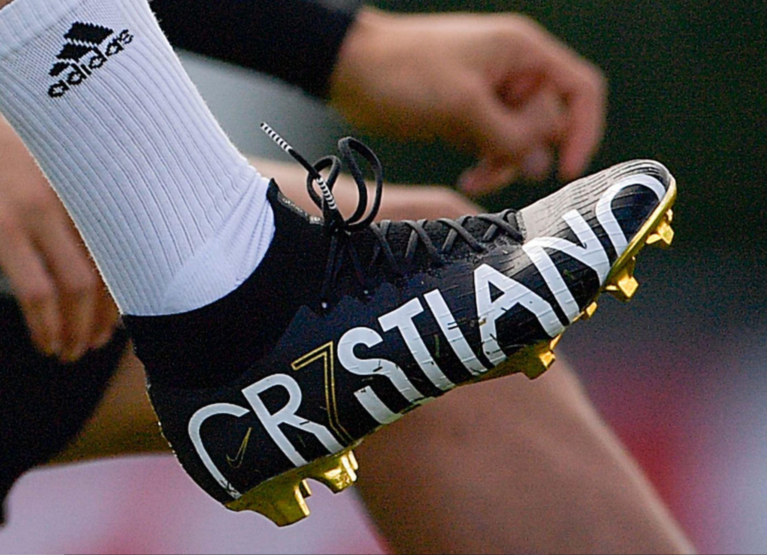 Cristiano Ronaldo Trains In Unreleased CR7 Signature Boots