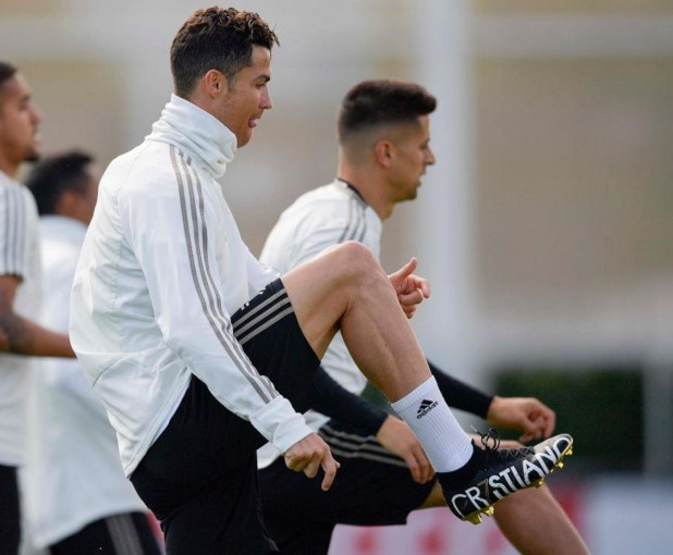 CR7 New Boots
