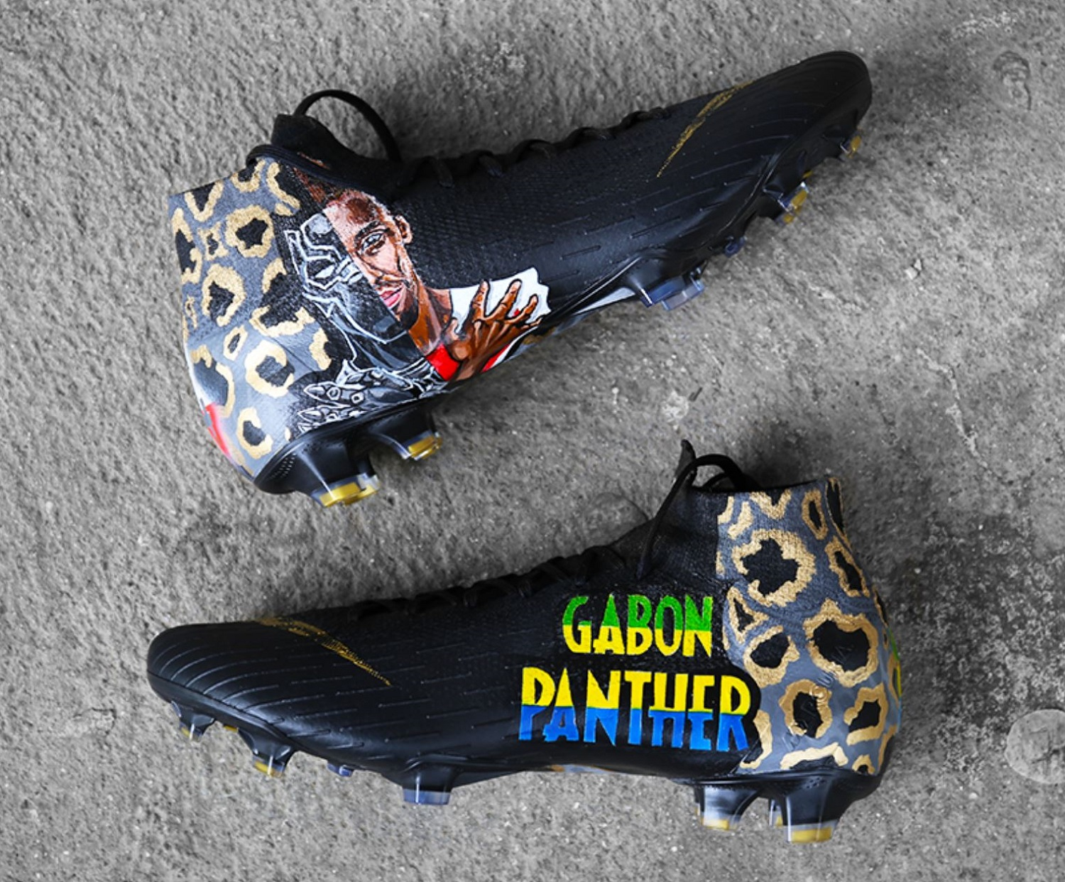 detailed look price reduced new photos Aubameyang Gabon Panther Superfly | Soccer Cleats 101