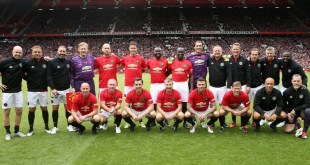 Man Utd Treble Winners Match