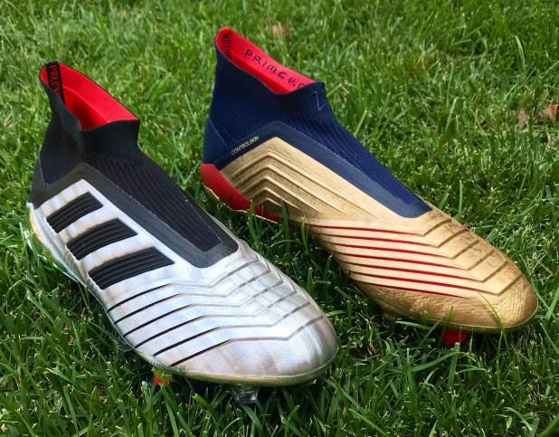 adidas Predator 19+ Silver vs Gold