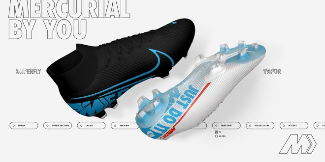 Nike Mercurial By You Custom Boots