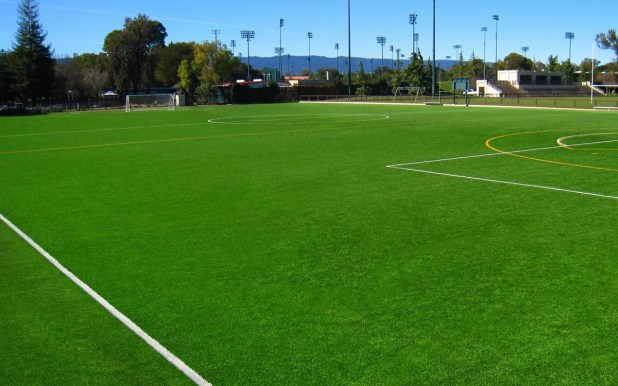 Artificial Soccer Pitch in Hot Conditions