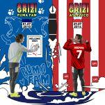 Antoine Griezmann Puma Fam Atletico