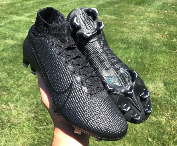 Nike Superfly 7 Stealth Black Up Close