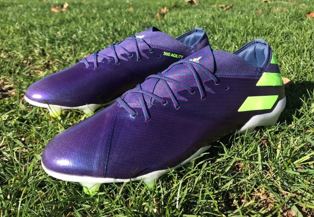 Messi adidas Nemeziz 19.1 Chameleon Indigo