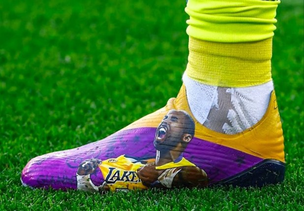 Kobe Bryant Customized Soccer Cleats