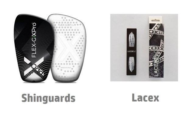 SoxPro Shinguards and Laces