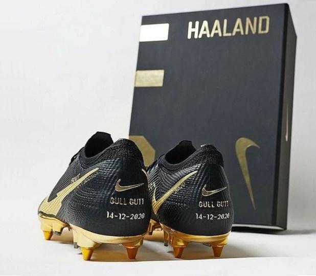 Haaland Custom Nike Boots