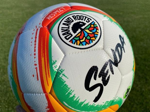 Oakland Roots Senda Soccer Ball
