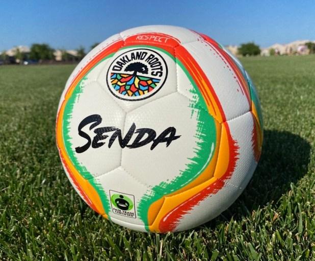 Senda x Oakland Roots Soccer Ball