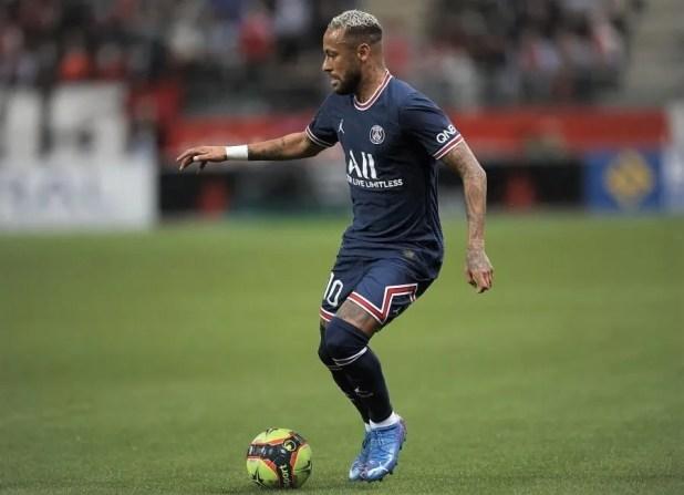 Neymar wears the Puma FUTURE Z 1.2