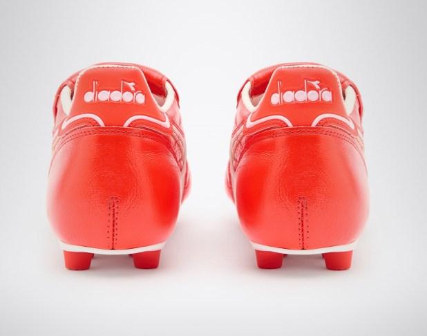 Diadora Brasil Italy LT+ in Red Heel Design