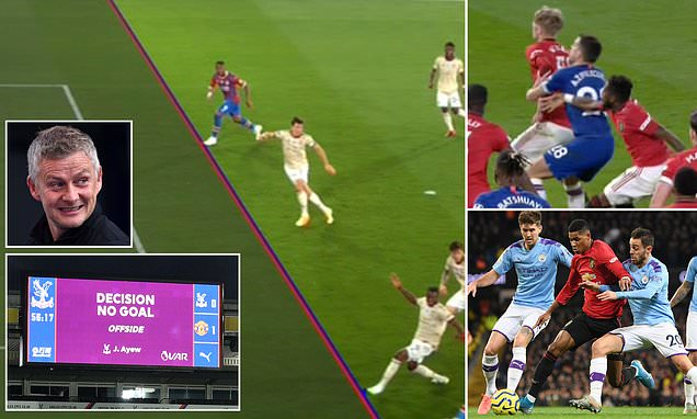 Manchester United have had SEVEN goals against them disallowed by VAR