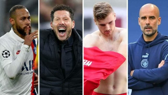 The winners and losers of the Champions League quarterfinal draw