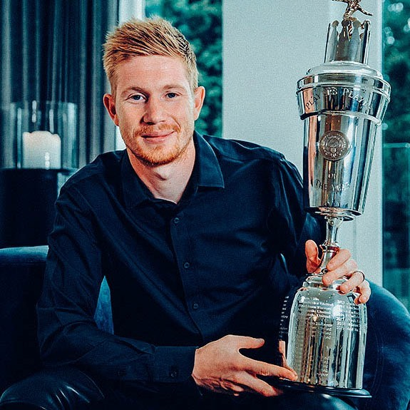 Kevin De Bruyne crowned 2020 PFA player of the year
