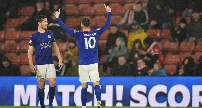 Leicester city trash Southampton 9nill