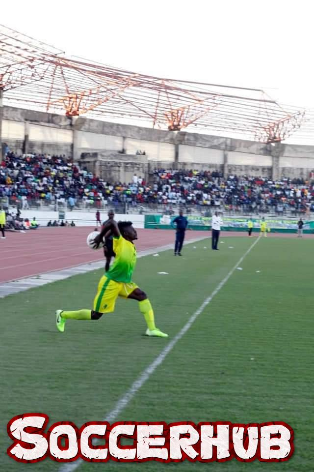 Large turnout fans, Plateau united overturned Enyimba scares in Jos