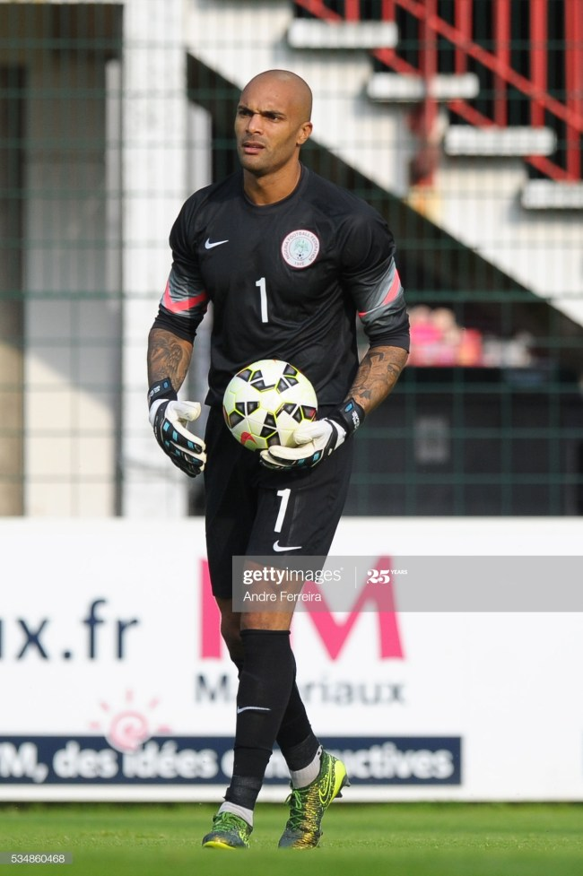 Carl Ikeme during an International Friendly match between Nigeria and Mali on May 27, 2016 in Rouen, France. ( Photo by Andre Ferreira / Icon Sport ) (Photo by Andre Ferreira/Icon Sport via Getty Images)