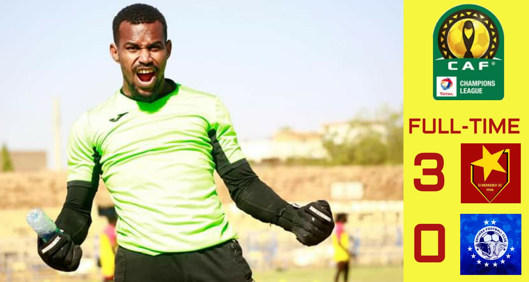 CAF CL: Terry bags hat trick as Al Merreikh defeat Enyimba
