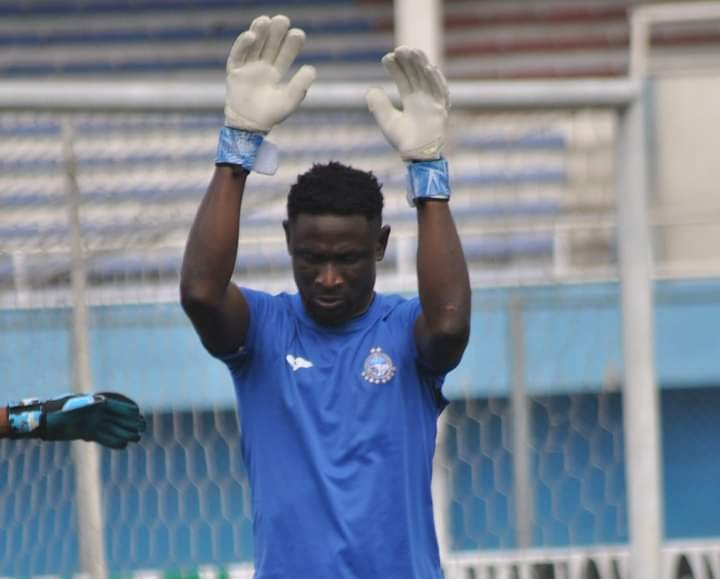 Enyimba goal keeper John Noble earn his first Eagles call up