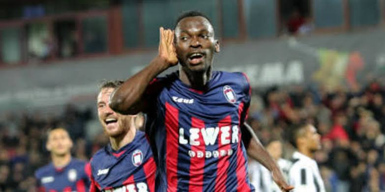 Simy Nwanko set to leave relegated Crotone