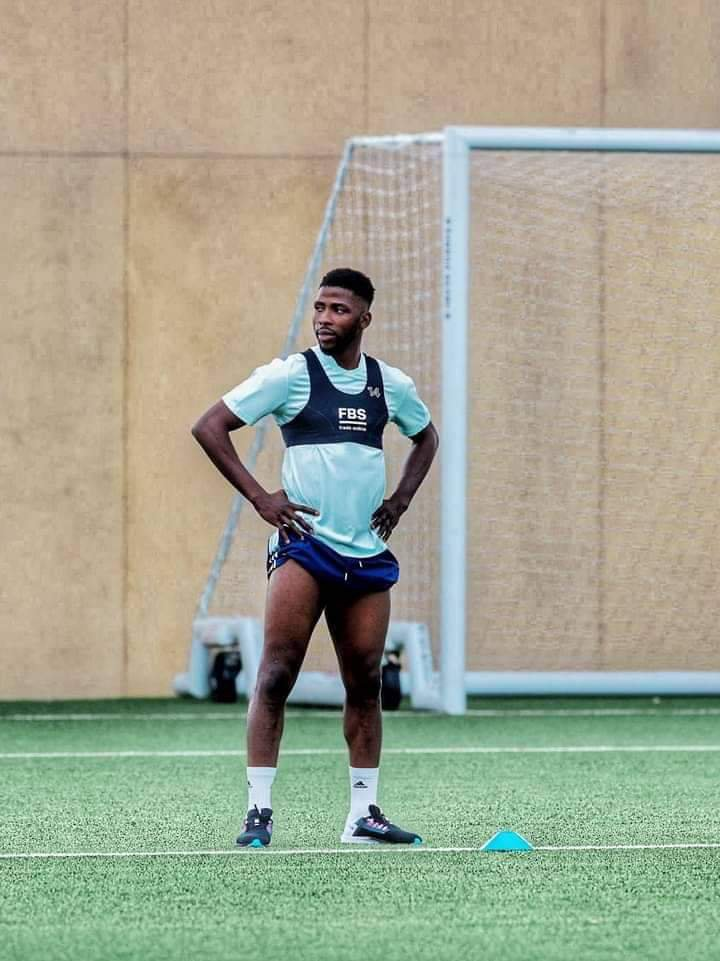 Kelechi Iheanacho not pressured to deliver at Leicester.