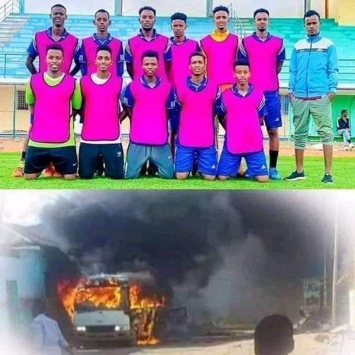 Newly promoted Somalian premier league team JCCI FC bombed in Kissimio.