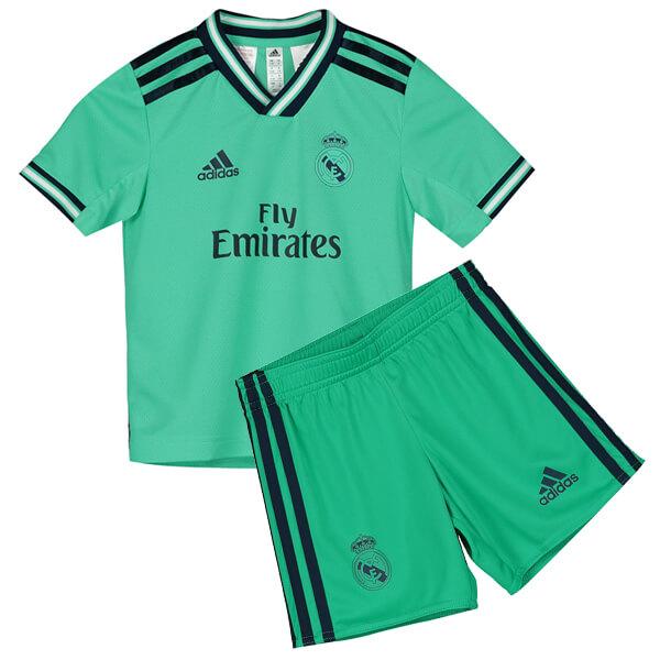 Real Madrid Third Kids Football Kit 19/20 - SoccerLord