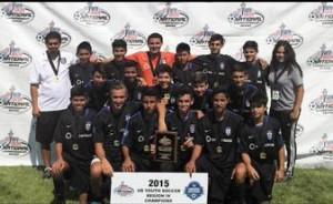 2015 Region IV Champions