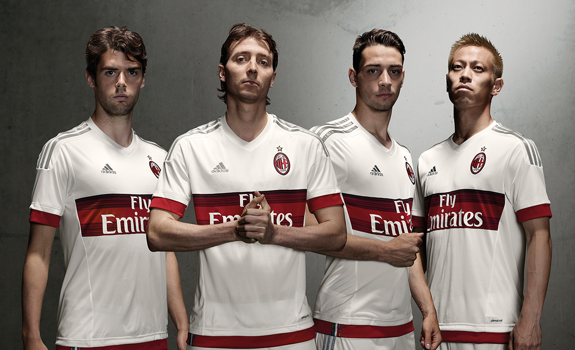 AC Milan Away Kit Takes Pitch in China