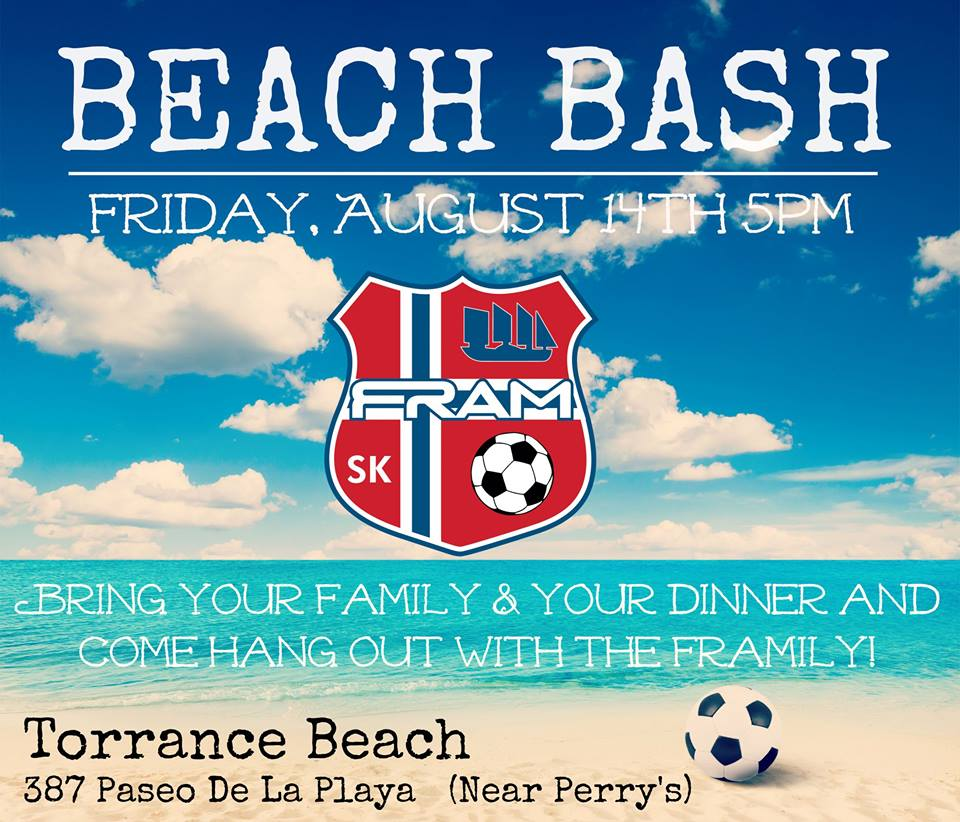 Get to know the Framily at the Fram Beach Bash!