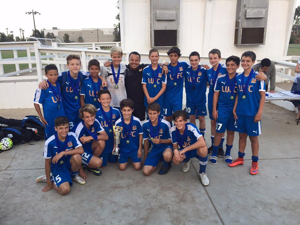 Laguna United Claim Title at 2015 Carlsbad Coastal Classic