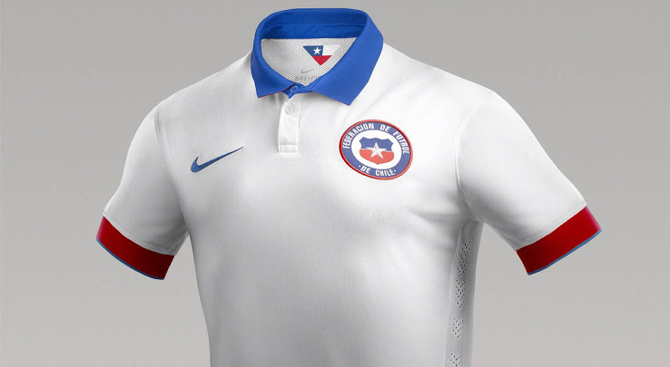 Chile Partners with Nike to release lovely home & away kits