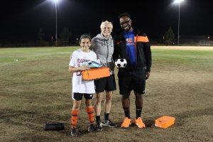 Congratulations to Isabella C for winning a pair of Rapinoe's Mercurial Vapor X cleats!