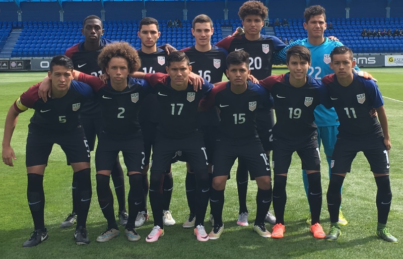 10 California Natives Lead U-19 MNT To 2016 Slovakia Cup Championship Match