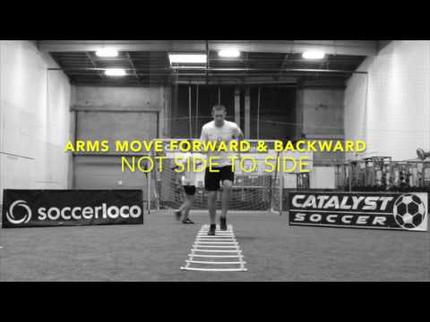 Improve Your Footspeed with Agility Ladder Training