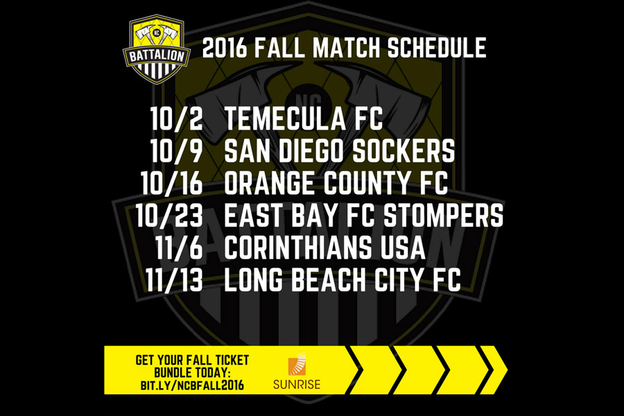 NC Battalion Gears Up for Fall Friendlies