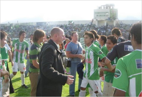 On a Mission: Ziggy Korytoski and Los Panzas Verdes (The Green Bellies) of Antigua GFC