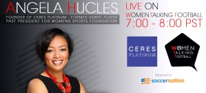 Former USWNT player Angela Hucles on Ceres Platinum