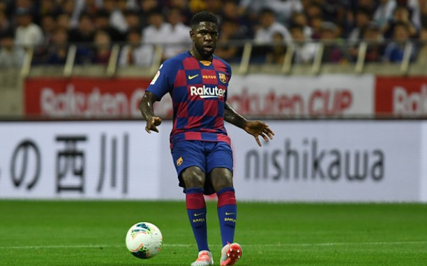 Everton line up Umtiti move