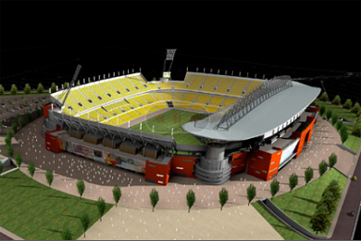Peter Mokaba Stadium Polokwane - 2010 World Cup Stadiums ...
