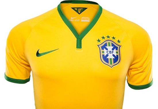 Nike Keeps Brazil Cool With The World Cup Home Kit The