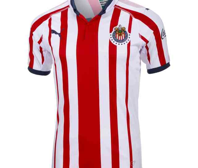 Puma Chivas Home Jersey   Soccerpro