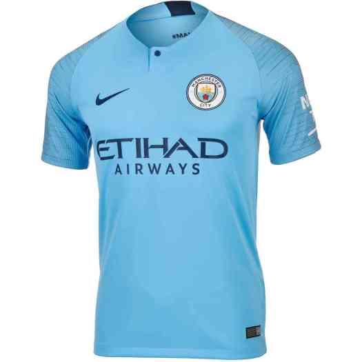 2018/19 Kids Nike Manchester City Home Jersey - SoccerPro