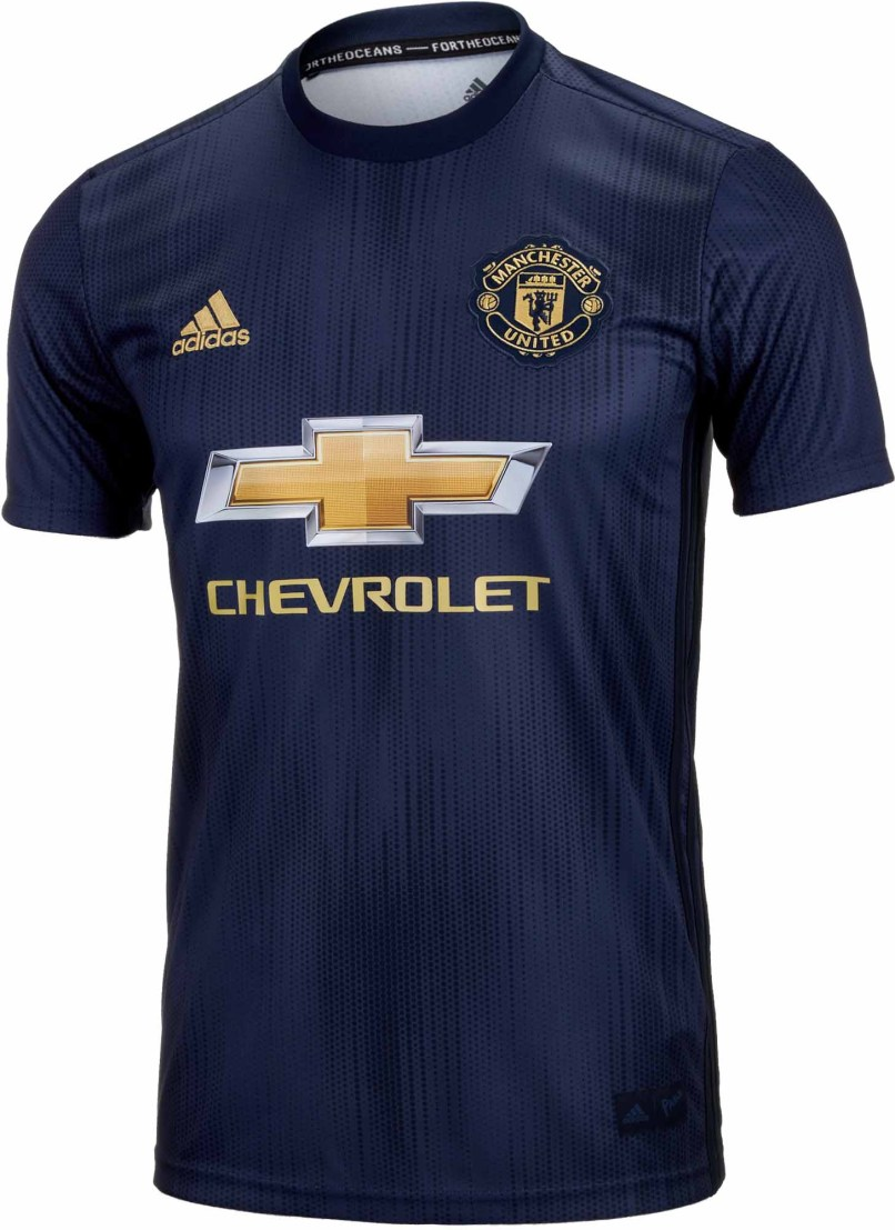efda766154f Adidas Manchester United 3rd Jersey 2018 19 Soccerpro