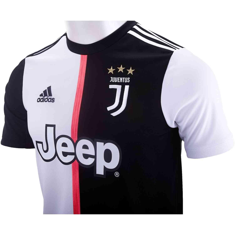 20 Kids Adidas Juventus Home Jersey