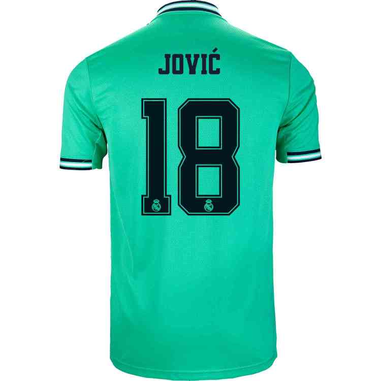 2019/20 adidas Luka Jovic Real Madrid 3rd Jersey - SoccerPro